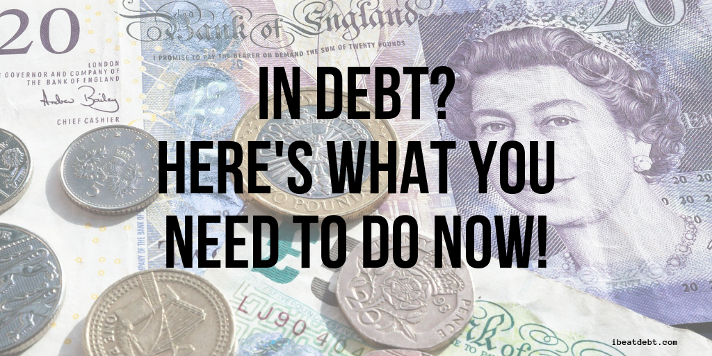 What to do if you find yourself in debt?