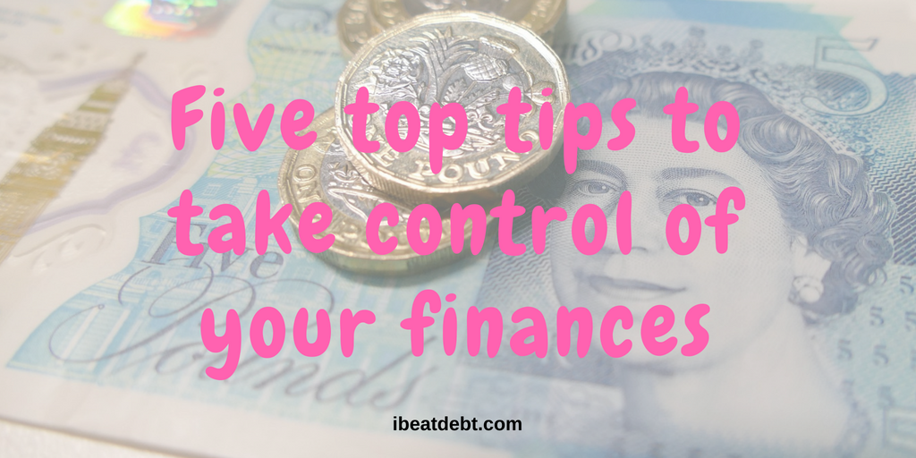 My top 5 money management tips