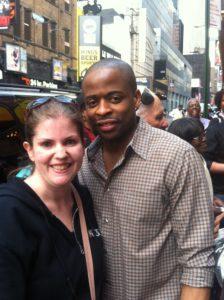 New York on a budget - meet celebrities after a show