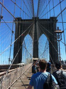 New York tours - walk the Brooklyn Bridge