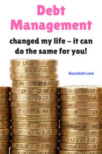debt free with debt management