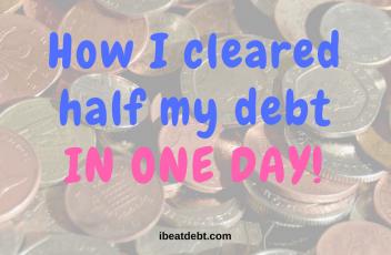 half debt