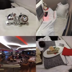 I flew Virgin Atlantic upper class thanks to my flying club miles