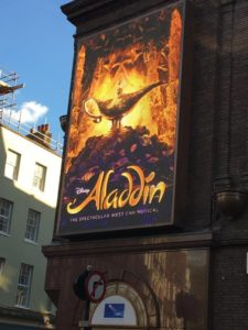 cheap west end theatre tickets meant I saw Aladdin