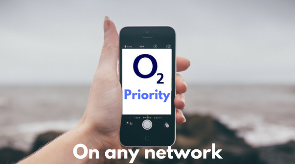 how to get o2 priority on any network