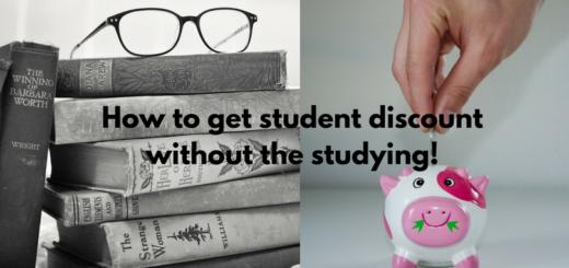 student discount books savings