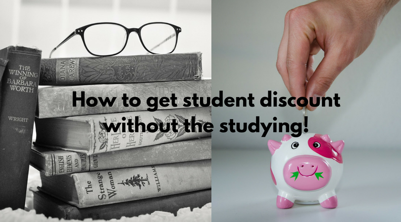 student discount books savings