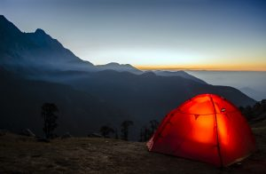 low cost camping ideas