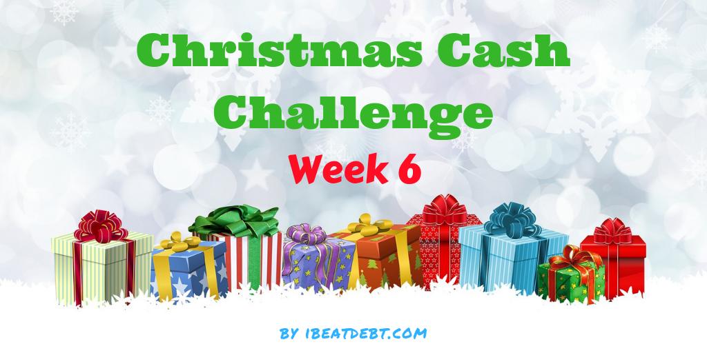 Christmas Cash Challenge 6