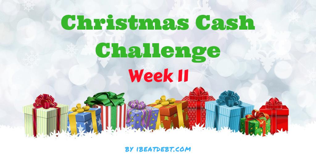 Christmas Cash Challenge 11