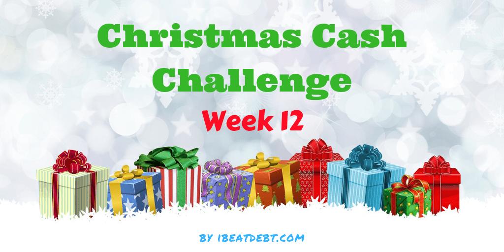 Christmas Cash Challenge 12