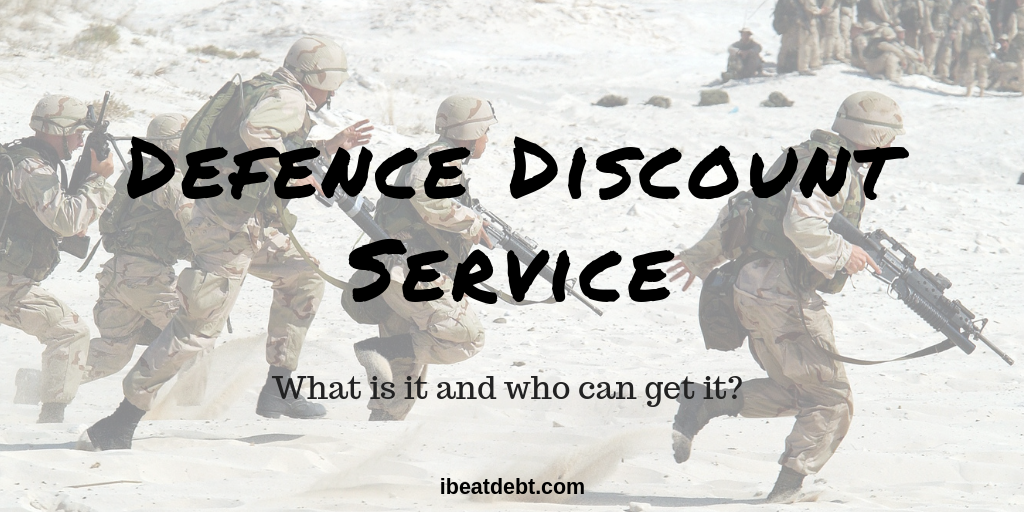 Defence Discount Service - what is it and who is eligible?