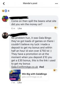 gambling companies are using facebook to prey on people
