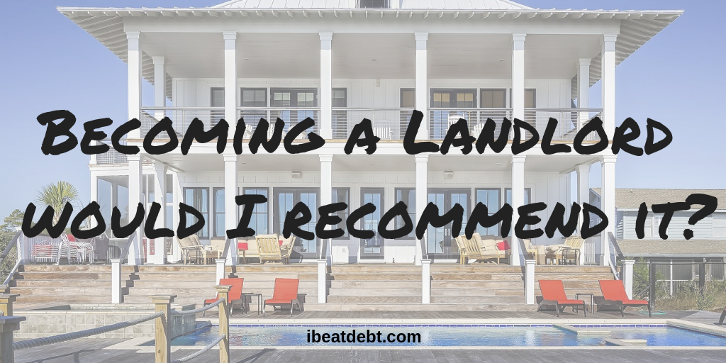 Becoming a landlord – is it a good plan?