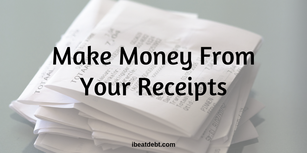 Making money with your receipts