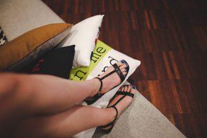 black sandal frugal fail