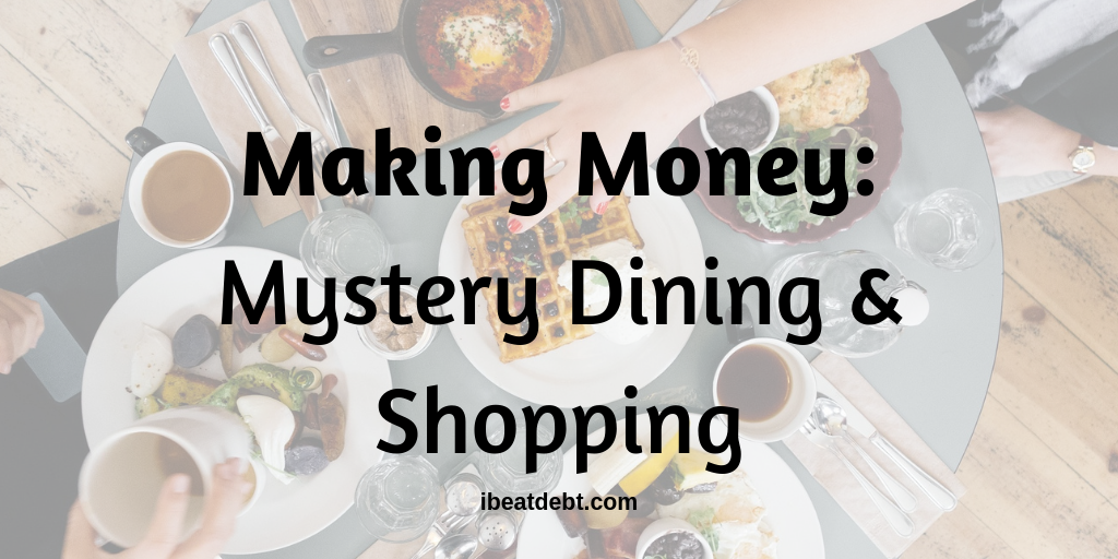 mystery dining and mystery shopping