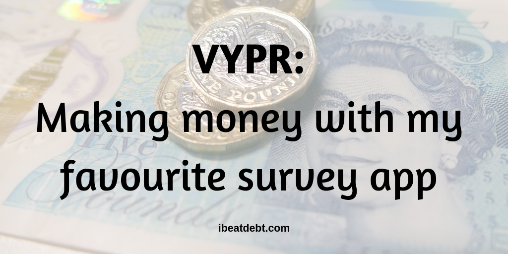 Vypr - Earning money with my favourite quick survey app