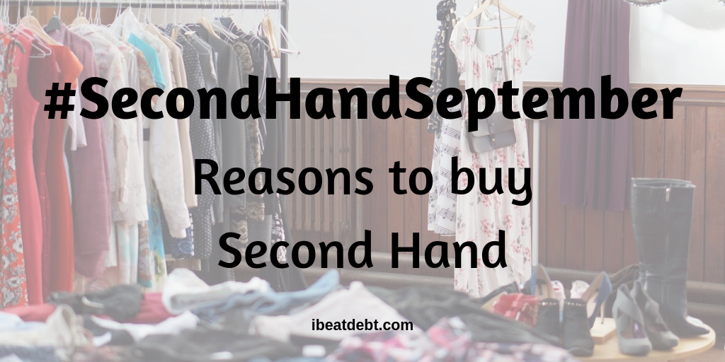 Reasons to buy second hand