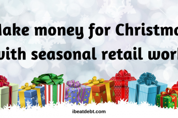 seasonal retail work