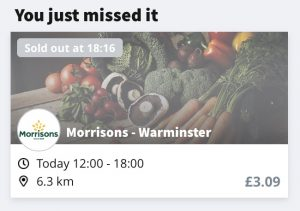 morrisons too good to go box confirmation