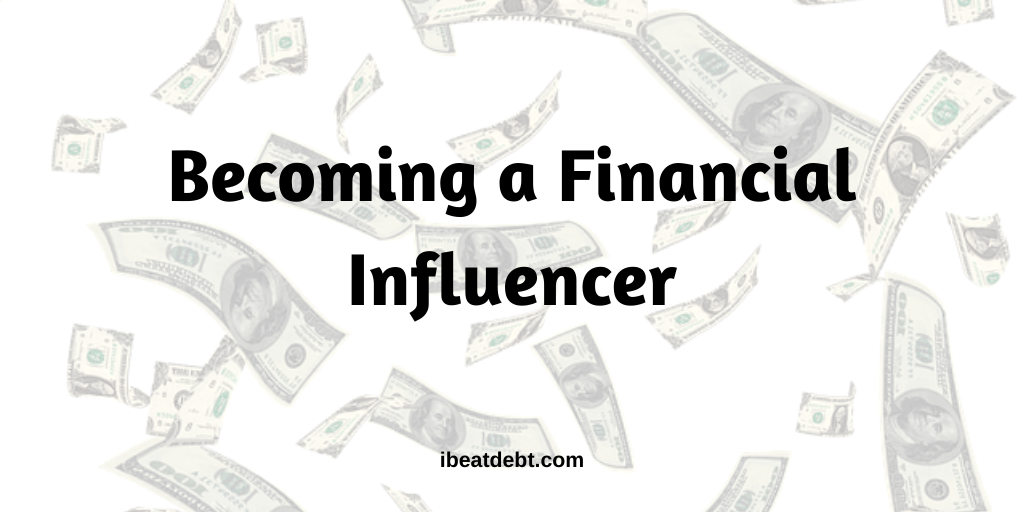 Becoming a financial influencer