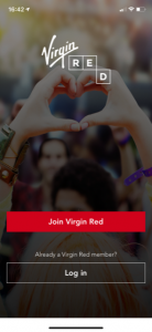 virgin red app available in the app or play store