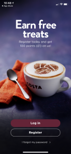 earn free coffee with the costa coffee club